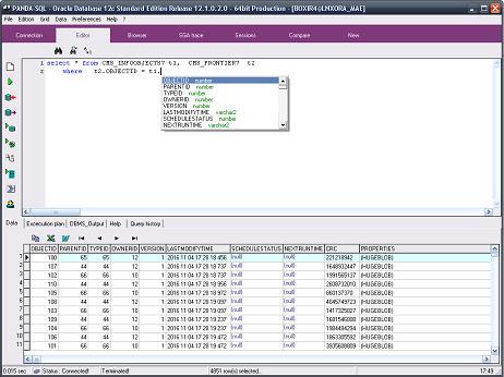 Site sur le logiciel Panda SQL